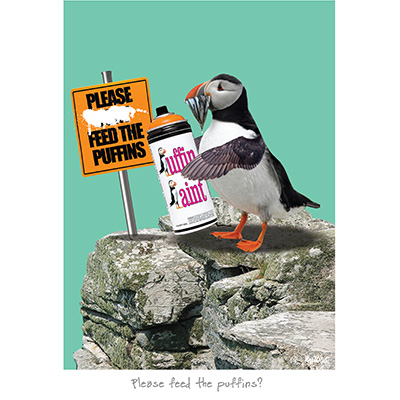 Please feed the Puffins?